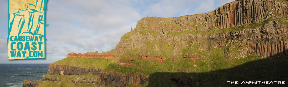 The Amphitheatre at the Giant's Causeway, County Antrim