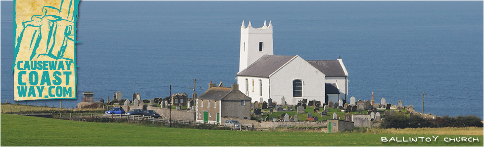 Ballintoy Church, County Antrim