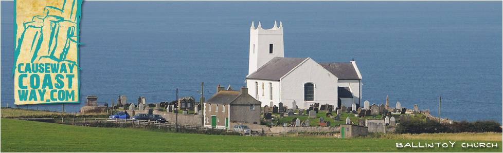Ballintoy Church, County Antrim