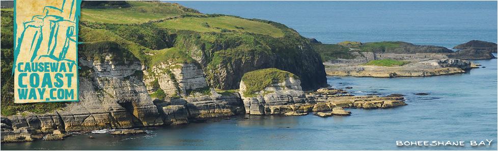 Boheeshane Bay, Ballintoy, County Antrim