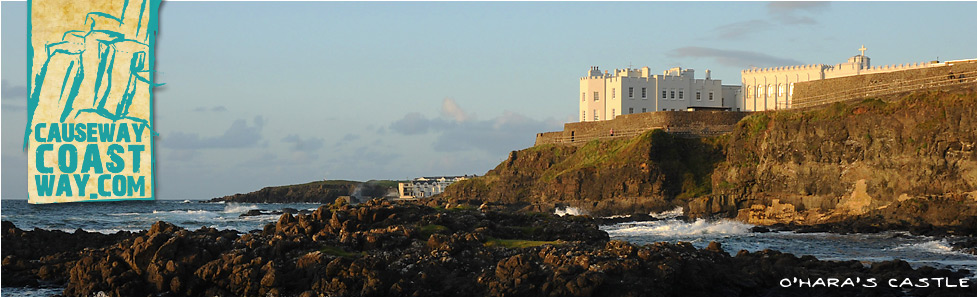 O'Hara's Castle, Portstewart, County Derry/Londonderry